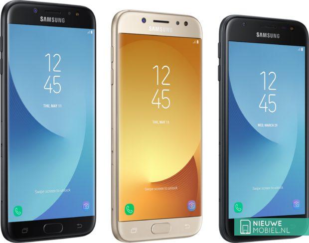 Samsung Galaxy J7, J5 en J3 (2017)