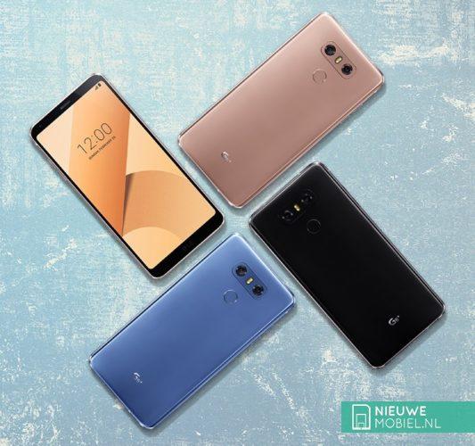 LG G6+ colors