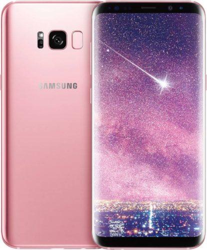 Samsung Galaxy S8+ pink