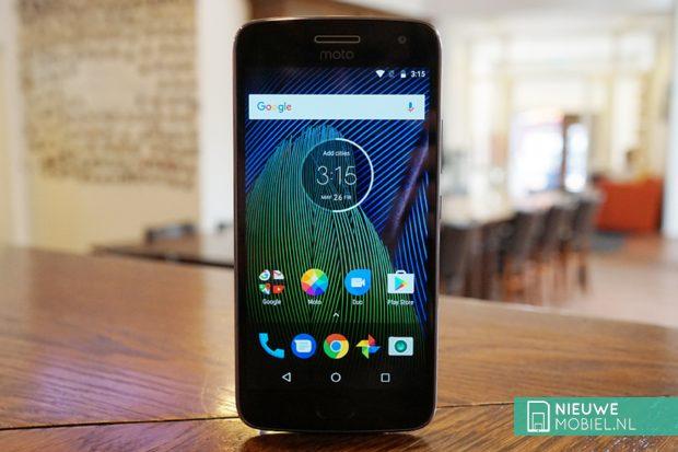 Motorola Moto G5 Plus voorkant