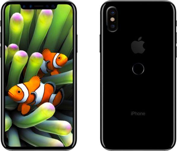 Apple iPhone 8 render