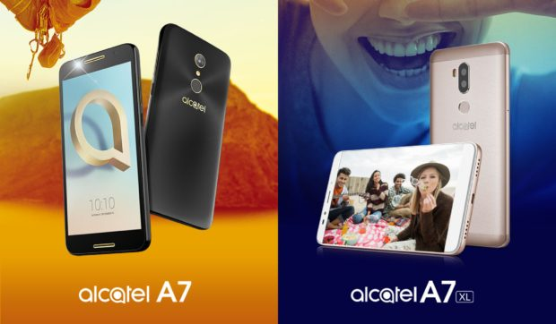 Alcatel A7 en A7 XL