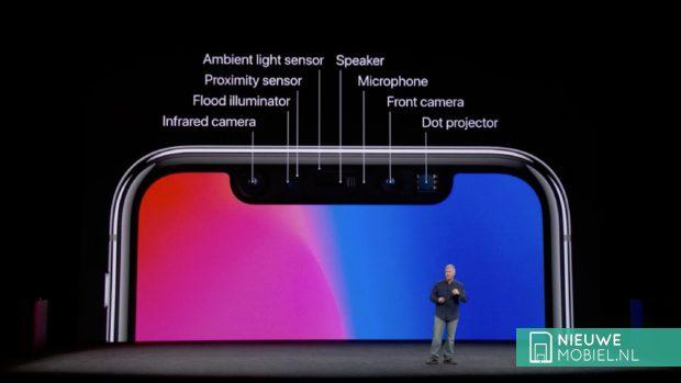 TrueDepth camera iPhone X