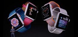 Apple toont Watch Series 3 met ingebouwde 4G