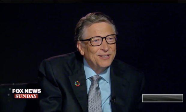 Bill Gates bij Fox News Sunday