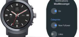 Google geef beta Android Wear vrij gebaseerd op Oreo