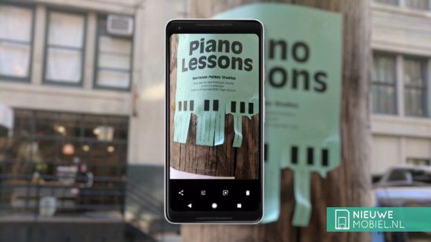 Google Pixel 2 XL met Google Lens
