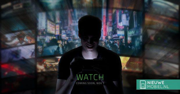 Razer plaatst teaser voor telefoononthulling