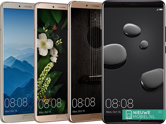 Huawei Mate 10 kleuruitvoeringen