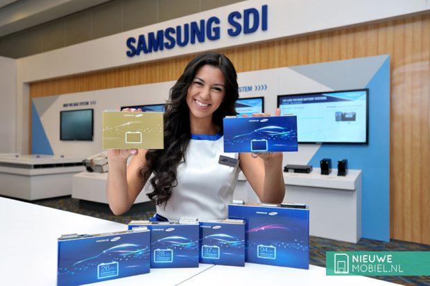 Samsung SDI batterij