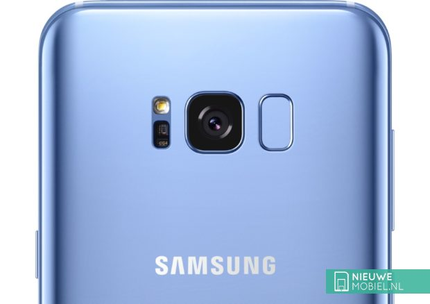Samsung Galaxy S8+ achterkant
