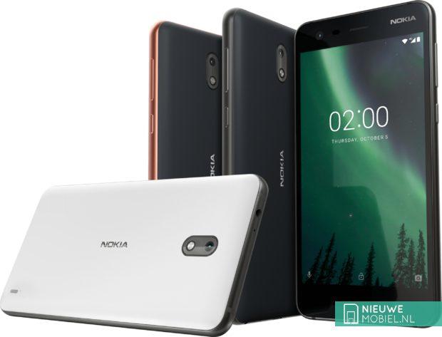 Nokia 2 uitvoeringen