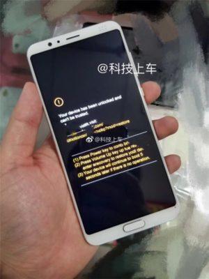 Huawei nova 3 voorkant