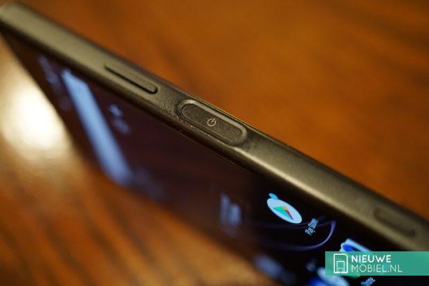 Sony Xperia XZ1 Compact vingerafdrukscanner