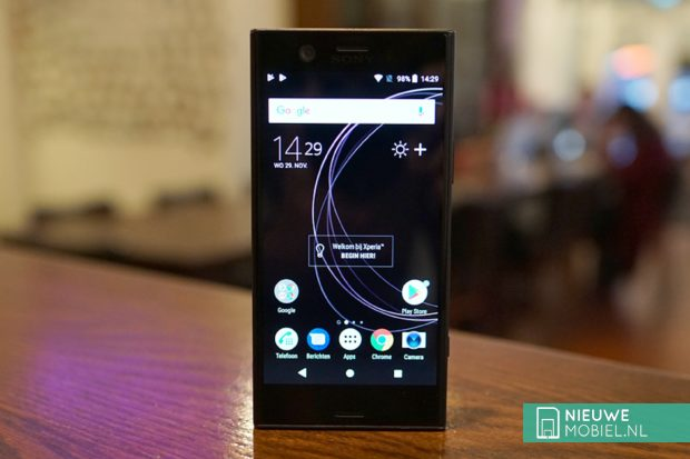 Sony Xperia XZ1 Compact voorkant