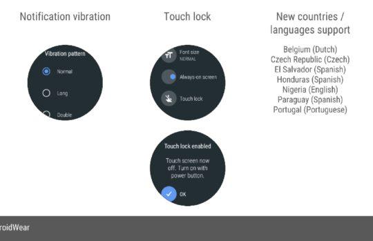 Google geeft Oreo-update voor Android Wear vrij