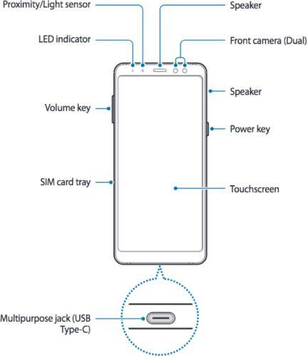 Samsung Galaxy A8 handleiding