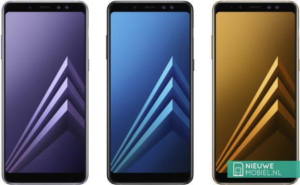 Samsung Galaxy A8 (2018) kleuren