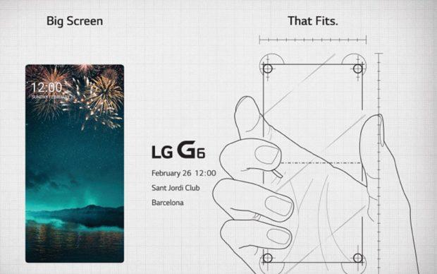 LG G6 uitnodiging