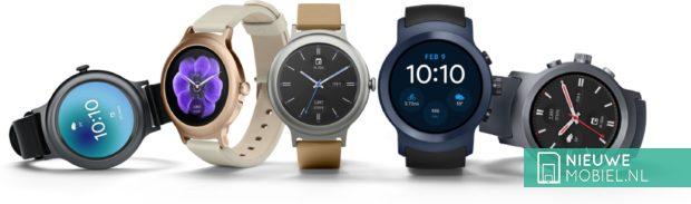LG Watch Style en Watch Sport
