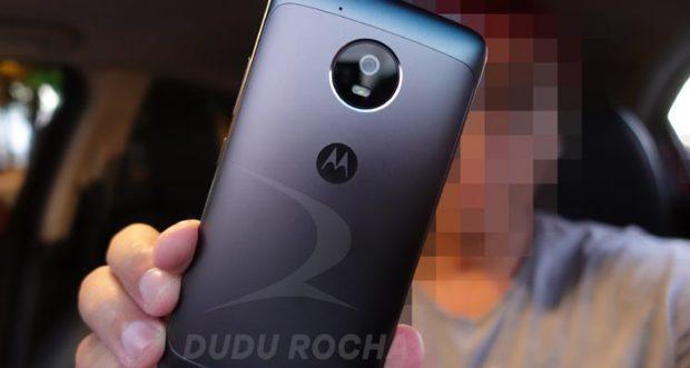 Lenovo/Motorola Moto G5 metalen achterkant
