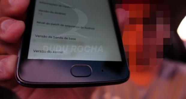 Motorola Moto G5 vingerafdrukscanner