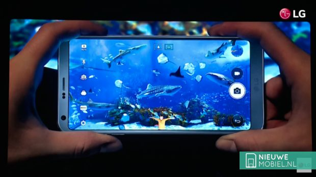 LG G6 camera interface