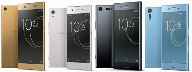 Sony Xperia 2017 lineup