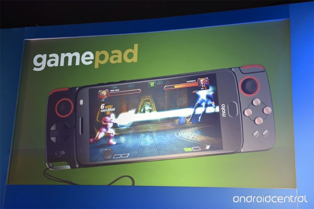 Motorola Moto Z (2017) gamepad Moto Mod