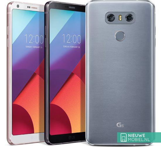 LG G6 kleuruitvoeringen