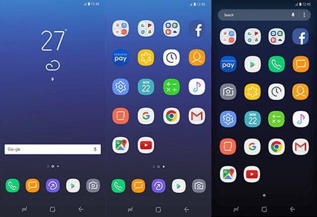 Samsung Experience UX op de Galaxy S8