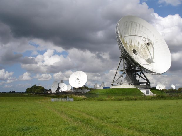 Satellietgrondstation NSO Burum Friesland