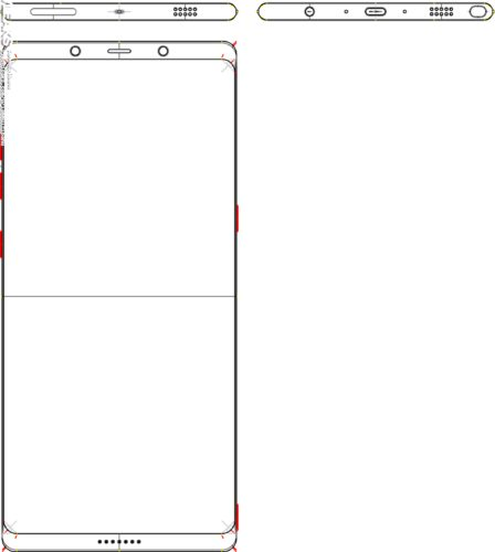 Samsung Galaxy Note 8 schema