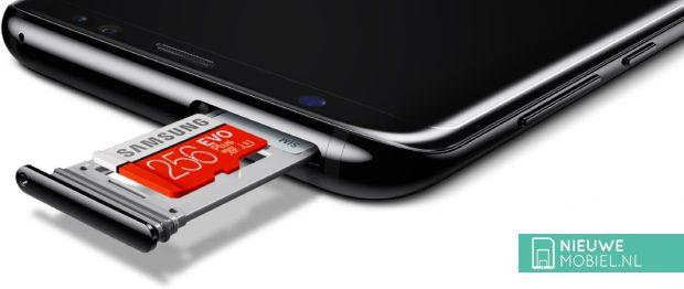Samsung Galaxy S8+ geheugen uitbreiden
