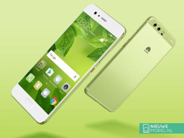 Huawei P10 en P10 Plus in Greenery-groen