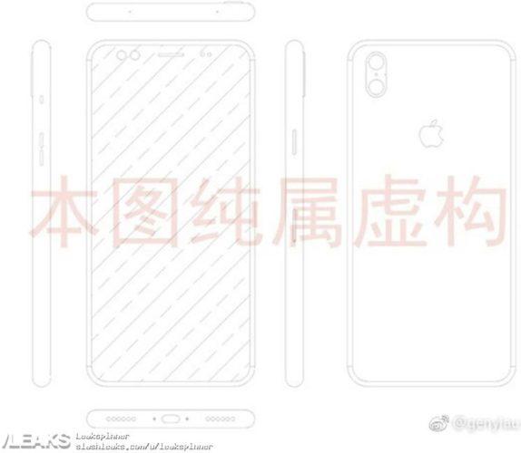 Apple iPhone 8 schema
