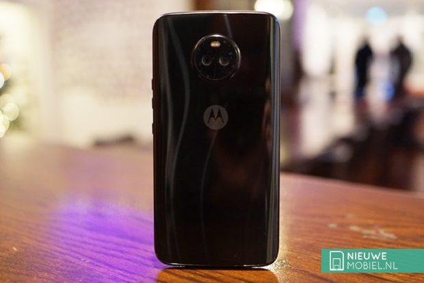 Motorola Moto X4 achterkant