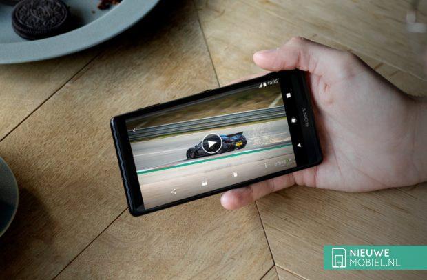 Sony Xperia-scherm