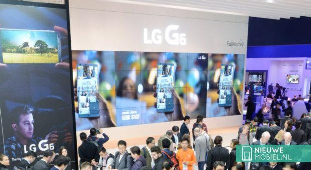 LG G6 tijdens het MWC