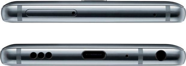 LG G7 ThinQ boven- en onderkant