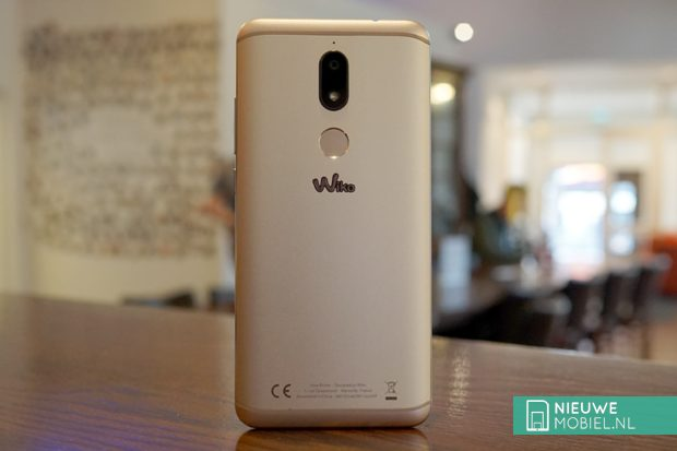 Wiko View Prime backside