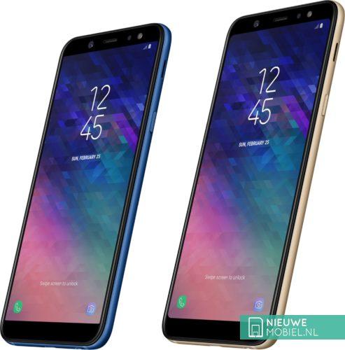 Samsung Galaxy A6 en A6+