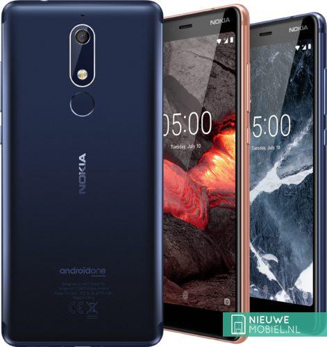 Nokia 5.1 overzicht