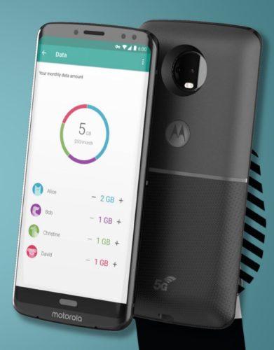 Motorola Moto Z3 met 5G Moto Mod