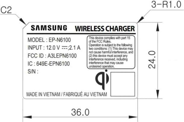 Samsung Galaxy Note 9 snellader
