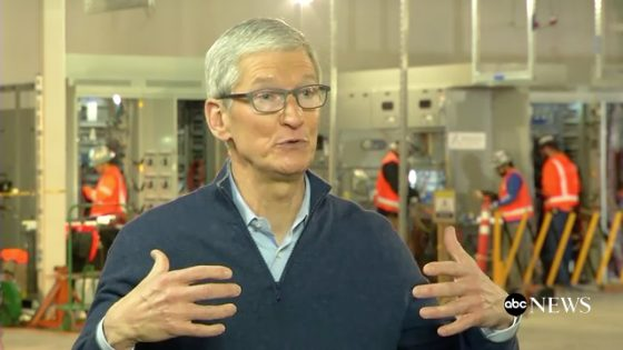 Tim Cook bij ABC News