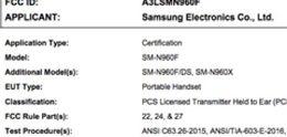 Samsung Galaxy Note 9 goedgekeurd, aankondiging aanstaande