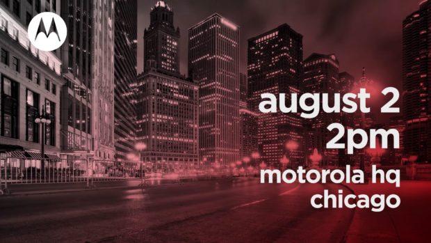 Motorola 2 augustus 2018