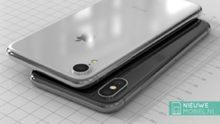 Nieuwe renders tonen 6,1 inch iPhone 2018 met enkele camera