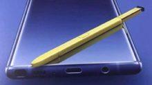 Mogelijk promotiemateriaal Samsung Galaxy Note 9 verschenen